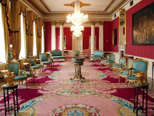 The Red Room in Dublin Castle