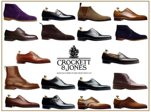I'm a sucker for Crockett and Jones shoes! This was just posted on Facebook.