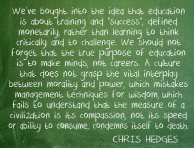 mygzyap:  What is education truly about? As shared by George Takei on Facebook