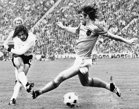 adidasfootball:  Its Netherlands v Germany today. It's fair to say there's some history in this match…