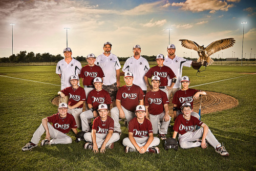 Owls 6th Grade Baseball Team by Matt Randolph on Flickr.Greatest 6th grade baseball team ever. Look at that beautiful owl!