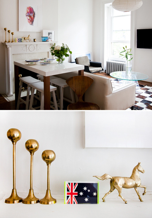 i like it here. the room + brooklyn heights | via designfiles