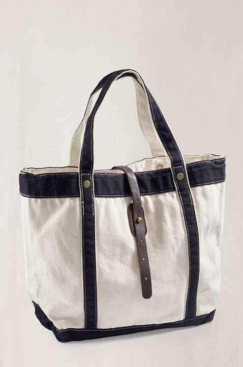 perfect beach bag? or perfect beach bag?! on sale at lands end canvas for $20.