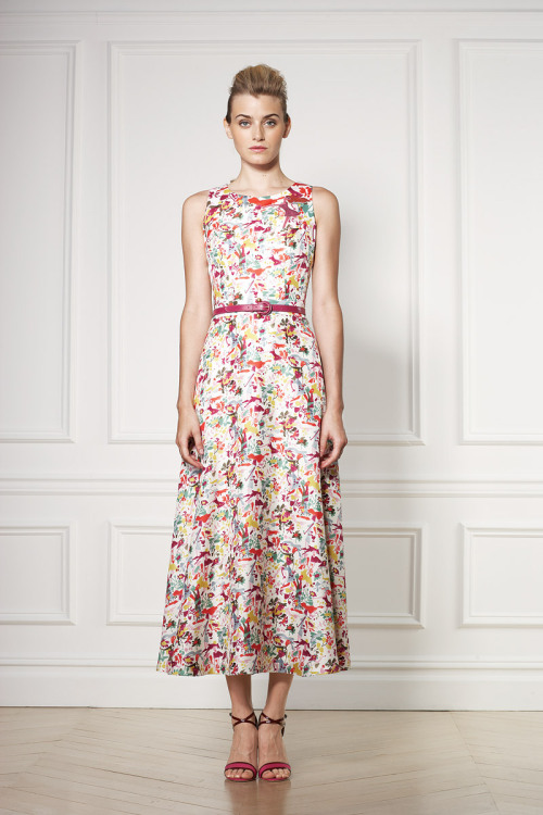 vogue:  Carolina Herrera Resort 2013Photo: Courtesy of Carolina HerreraVisit Vogue.com for the full collection and review.