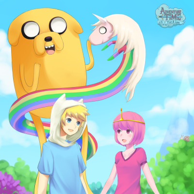 Adventure time by *Ushio-MissingNo That Snail is a SPY!!