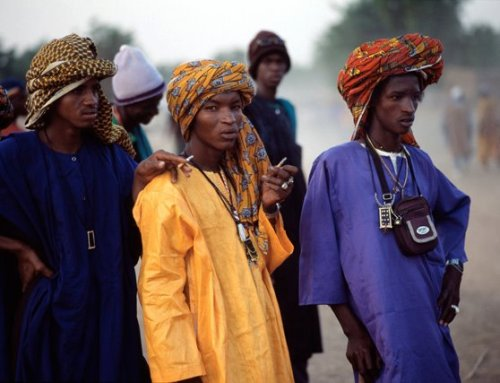 howiviewafrica:  Fulani men of class.