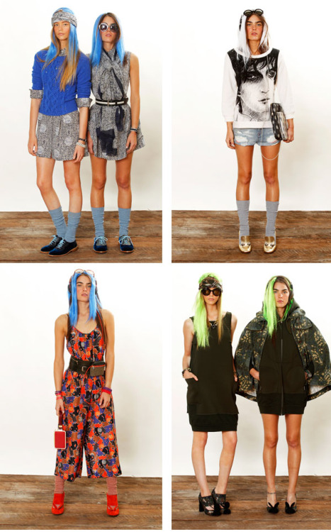 the 90s are back at Marc by Marc Jacobs Resort 2013
