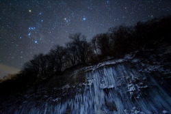 Star icefall by masahiro miyasaka on Flickr.
