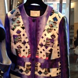 Look at this jacket! Peter Pilotto #resort. ML (Taken with Instagram)