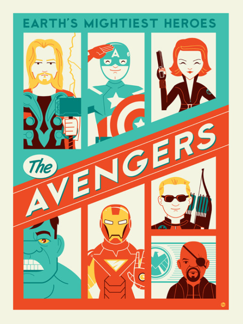 I love retro and this art by Montygog is both retro and awesome.