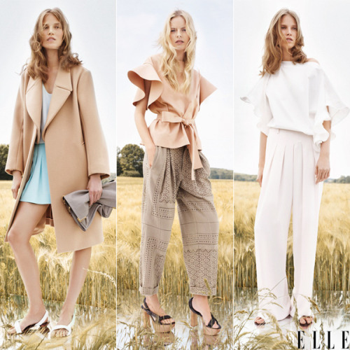 elle:  Chloe resort 2013