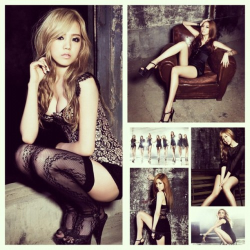 All the #afterschool #flashback #teasers so far. 😲 I'm dead. #jungah #raina #nana #lizzy #uee  (Taken with Instagram)