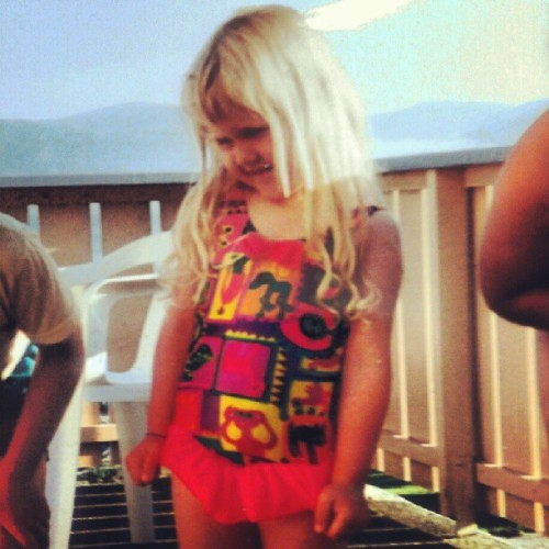 #me when i was three! #cute #blonde #girl #hair #bathingsuit #sun #summer #summerfeeling #thatsme #oldphotoofme #oldpictureofme #old #kidstagram #kid #kids #child #children #norway #norge #norwegian #norsk #fridefisk  (Taken with Instagram)