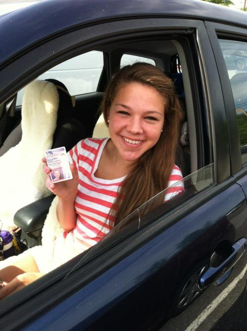 Dear maryland drivers, Look out because I am on the road. I am offically legal! whoooooo. Celebrate with me!…. except not on the road. That still qualifies as distracted driving. Sincerely, Emma