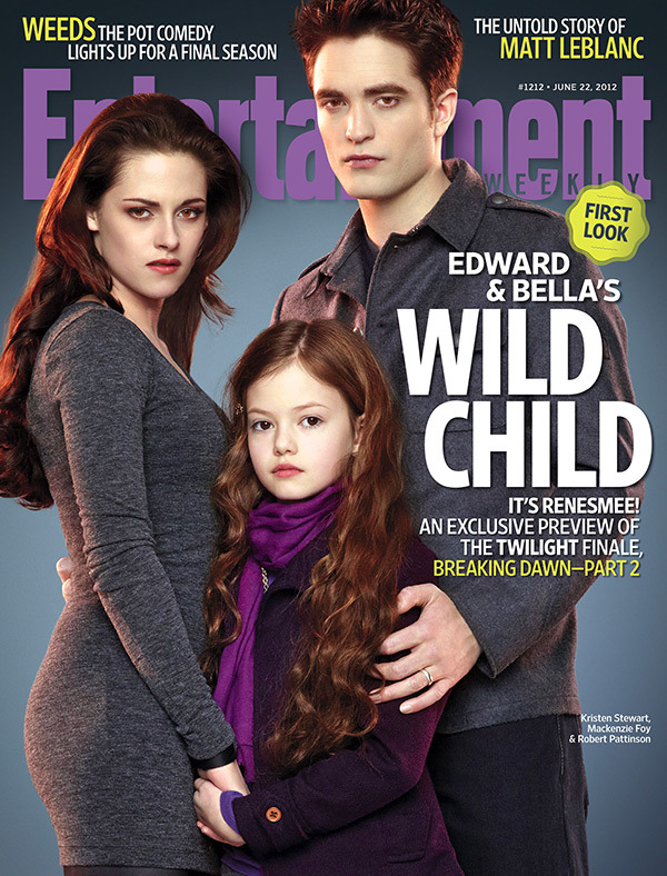 entertainmentweekly:  This Week's Cover: 'Twilight' Exclusive! Meet Renesmee, Breaking Dawn — Part 2's Wild Child!  purple swag
