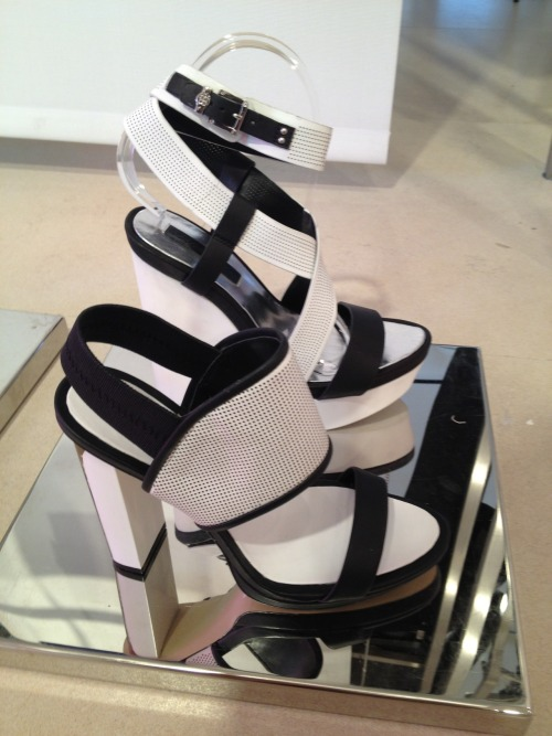 Black and white graphic styles at BCBG Max Azria
