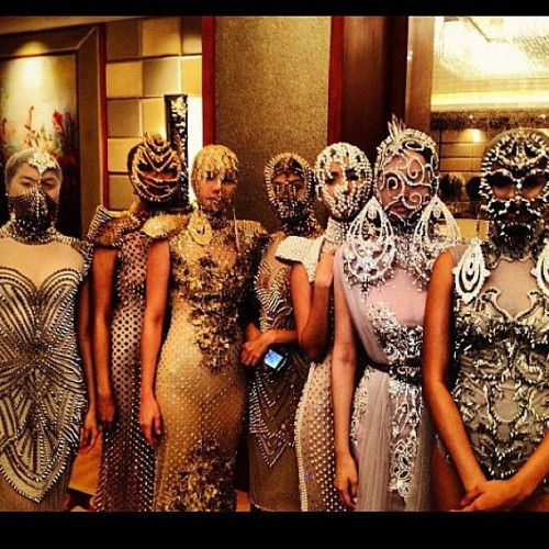 veejayfloresca:  Amazing creations of Filipino designer Furne One :-) (Taken with Instagram)