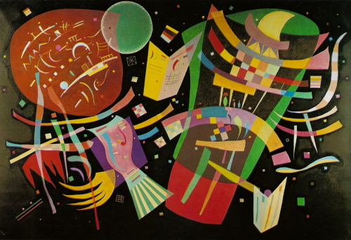 V. Kandinsky, Composition X, 1939