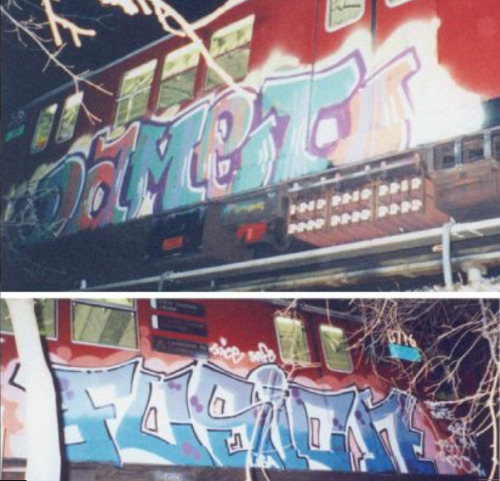 Classic shit damet had the first wholecar of the millennium in new York from memory!