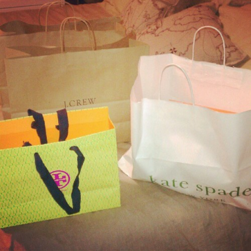 California was good to me. #fashion  #shopping   (Taken with Instagram)