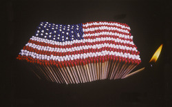 """American Flag"", 1965  By Photographer: BILL STETTNER"