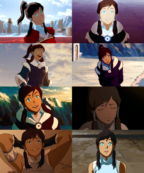 the legend of korra's adorable face