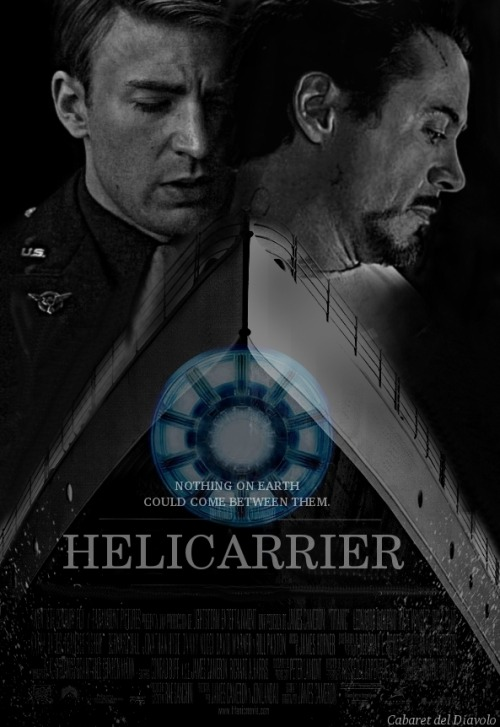 coveredinsnow-:  helicarrier by cabaretdeldiavolo