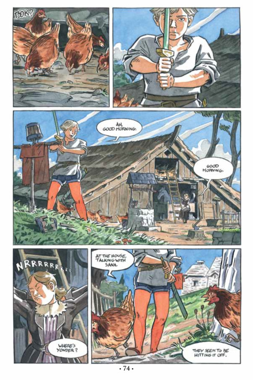 joshtierney:  Part 4 of Spera: Vol. I is now available on comiXology, with watercolour art by Olivier Pichard (olivier2046 on Tumblr). This chapter concludes the main story of Volume I. Upcoming comiXology issues will include the book's shorts, and Volume II will continue the central tale.