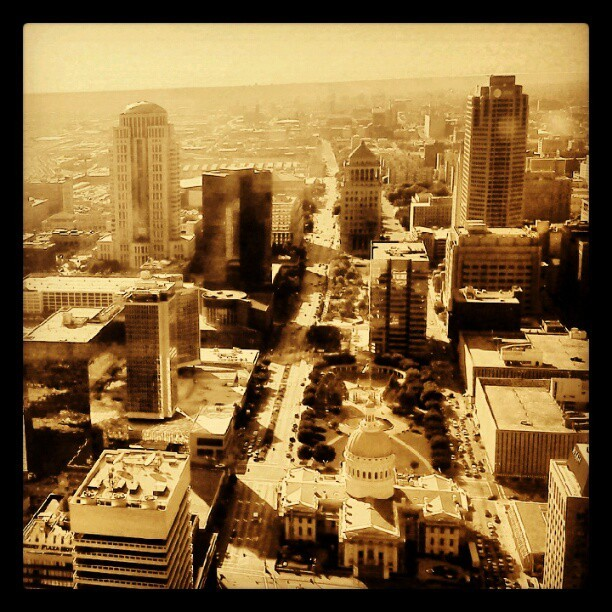 #stlouis from the arch  (Taken with Instagram)