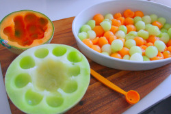 I WANT A MELON BALL SCOOPER.
