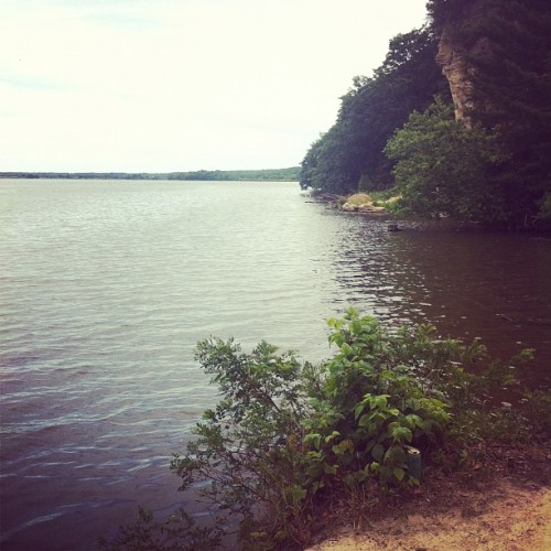At Starved Rock State Park (Taken with Instagram)