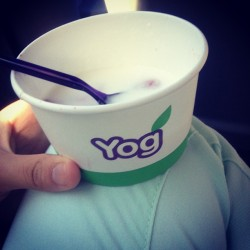 Healthy yog 😍💓 #healthy #yogurt #yog #food #love #instagood #followme #yog #sweet  (Taken with Instagram)