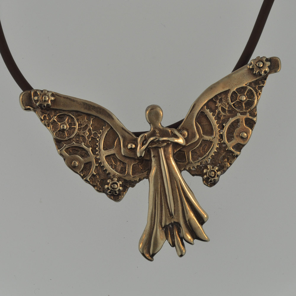 Replica Clockwork Angel.  For all of you who have been waiting for a more affordable version of Tessa's Clockwork Angel, the time has come…let me know what you think!