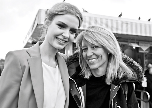 Models love their mom. -Josephine Skriver