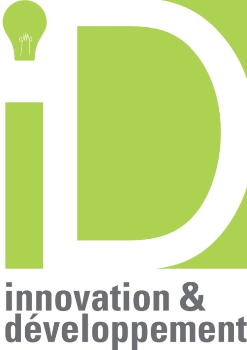 Logo created by me at work, for a customer (I.D.innovation & développement). It took about an hour to make.