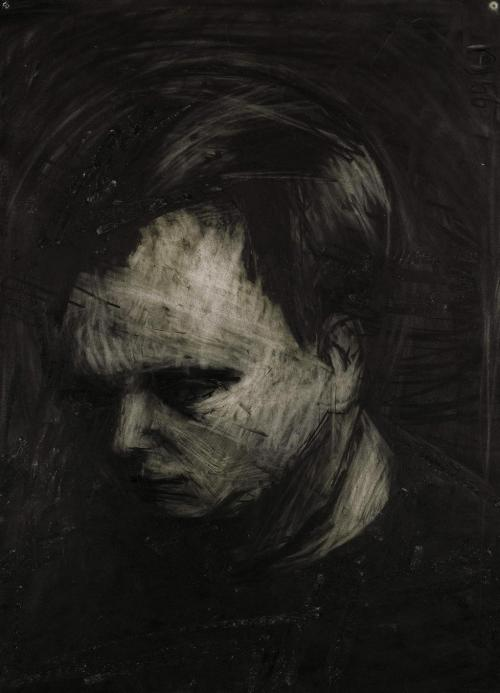 poboh:  Frank Auerbach. drawing 1962,