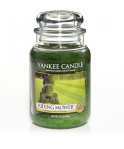 "About-Face on Yankee Candle's new ""Man Candles.""  Masculinity in advertising is fairly one-dimensional. If we were to believe commercials, men are always sweating, objectifying women, watching sports, drinking beer or very manly tequila, grilling hamburgers, farting, and messing up the laundry (because only ladies know how to do laundry). This stereotypical, hyper-masculine list of activities is deemed appropriate for men to enjoy; anything that falls outside of the hyper-masculine category is subject to ridicule."