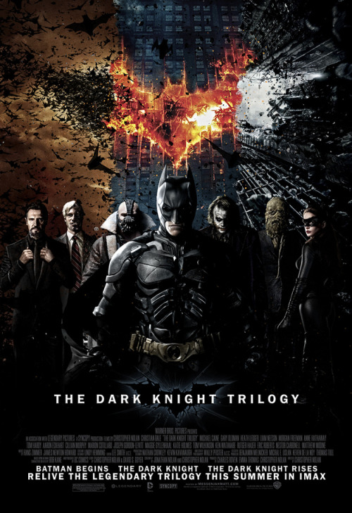 Awesome Fan Poster: The Dark Knight Trilogy