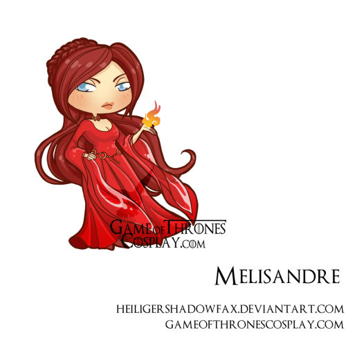 Melisandre by Sara Manca tumblr: http://blatterburystreet.tumblr.com DA http://heiligershadowfax.deviantart.com/ ___ Become our fan: http://www.facebook.com/#!/pages/Game-of-Thrones-Official-ASOIAF-Cosplay-Group/235762723153662 Game of Thrones cosplay group http://www.gameofthronescosplay.com