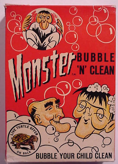 cryptofwrestling:  Monster Bubble N' Clean w/ Live Turtle Offer  TAKE A MONSTER BATH WITH YOU LIVE TURTLE & BUBBLE YOUR CHILD CLEAN. I'M FOR IT. LOOK AT THOSE WEIRDOS IN THE BATH. WOW.