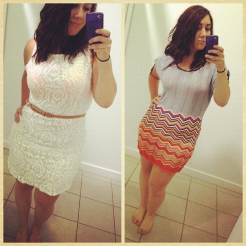New dresses!:) I love to shop, kind of an addiction of mine!