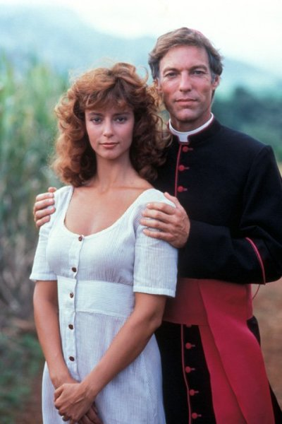 The Thorn Birds In the show, Meggie and Father Ralph de Bricassart couldn't get enough of one another, but in reality, Rachel Ward (Meggie) and Bryan Brown (Meggie's husband Luke) fell in love on set and were married! The series was nominated in 16 categories at the Primetime Emmy Awards in 1983. See what else you can learn at Television Out of the Box!