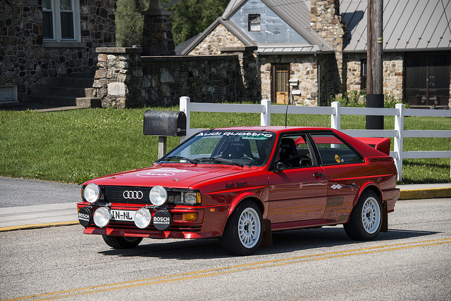 sic56:  Audi Quattro by Kompressed on Flickr.