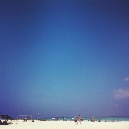 Playa del Carmen (Taken with Instagram at Honeymoon!)