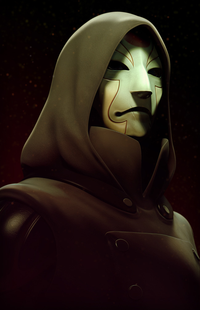 k4ll0:  I don't want Korra to end yet ಥ_ಥ  Very cool piece of 3D Amon fanart done in ZBrush.