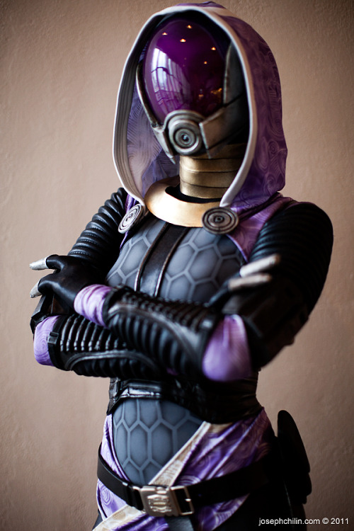 "Cosplay of the day: Jennifer Barclay  /  ""Tali'zorah vas Normandy Cosplay"""