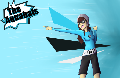 A picture I did for a school project…thing.Anywho, I just love the Aquabats and this seemed necessary so. Here you go!  ~~~~~ Click here for more art!