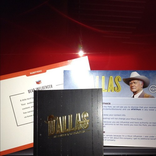 #Dallas Quickie #Klout Perk from #TNT. Thank you, TNT! #Dallas #DallasTNT #Dallas_TNT #TNTPerk #klout #KloutPerks #JRisBack (Taken with Instagram)