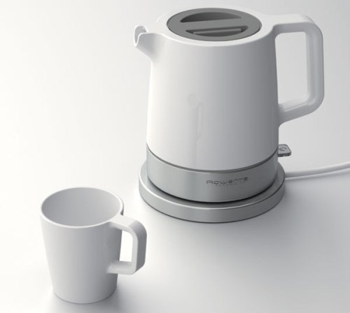 youmightfindyourself:  Ceramic Kettle by eliumstudio for Rowenta. Wish this made it into production…kickstarter plz?