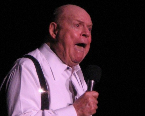 "Don Rickles' Obama joke cut from TV broadcast of Shirley MacLaine tribute  TV Land has announced that a controversial joke, told by legendary insult comic Don Rickles, will not appear during the television broadcast of the American Film Institute's tribute to Shirley MacLaine. ""President Obama is a personal friend of mine,"" said Rickles, adding, ""He was over to the house yesterday, but the mop broke."" (EDIT because some didn't get the joke: Rickles is implying that Obama is his janitor, which has racial connotations.) While Rickles' spokesman, as well as fellow comedian Jim Norton, were quick to defend the 86-year-old comedian, many others are happy to hear that the joke won't make it on-air. So, what do you think? Did TV Land make the right call? (Photo by Gary Dunaier) source Follow ShortFormBlog: Tumblr, Twitter, Facebook"
